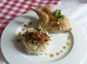 caille riz pilaf