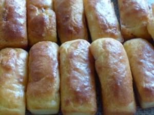 mini cake chorizo