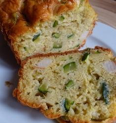 cake courgette surimi