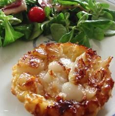 tarte tatinaux oignons frais