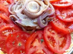 tarte tomate oignon rouge