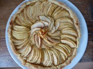 tarte au beurre de pommes