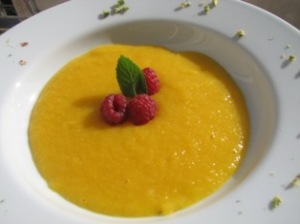 soupe mangue