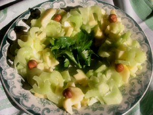 salade celeri pomme