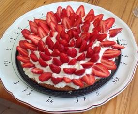 l'exquis aux fraises