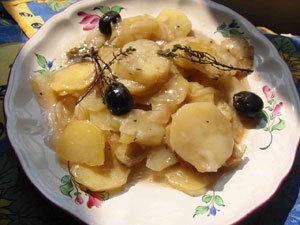 ragout de pomme de terre olives