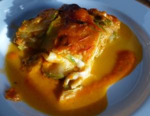 parmigiana courgettes