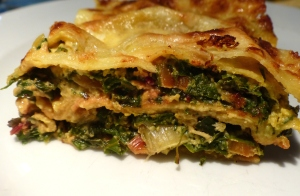 lasagnes feuilles de bette