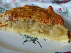 tarte aux pommes nougatine