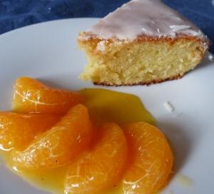 gâteau nantais et nage