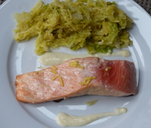 saumon unilatéral