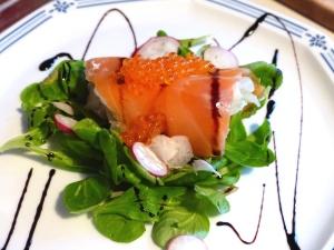 saumon fumé au fenouil