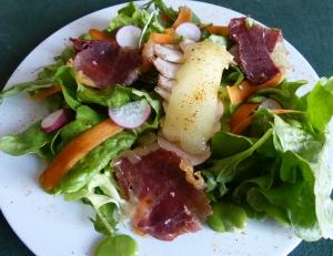 assiette printanière bearnaise