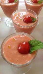 gaspacho fraise tomate