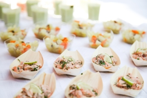 buffet tartare saumon