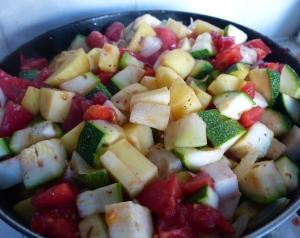 ragout de legumes à la grecque