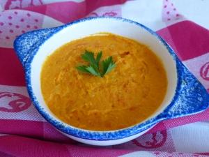 puree de carottes