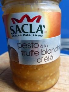 pesto à la truffe blanche