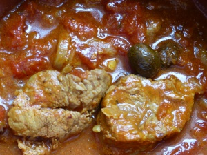 sauté veau tomate